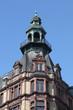 historisches Eckhaus in Frankfurt