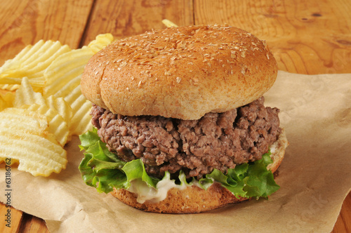 Thich hamburger