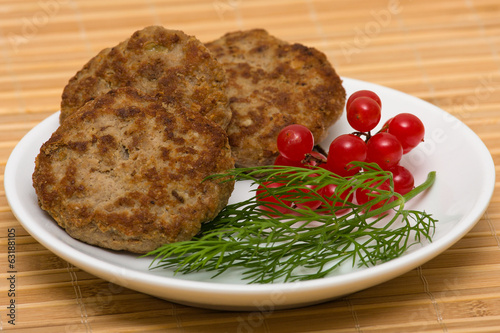 Fried cutlet