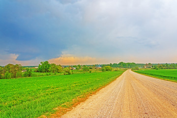 Dirt road hdr