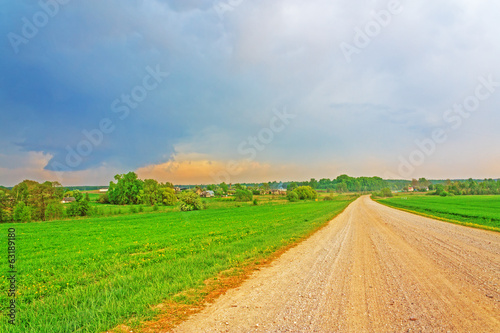 Dirt road hdr
