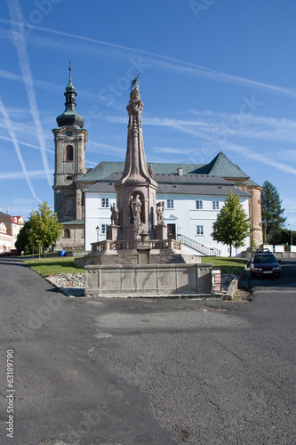 Square, Tepla, Czech Republic, 2013