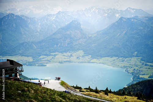 Landscape view in Austria