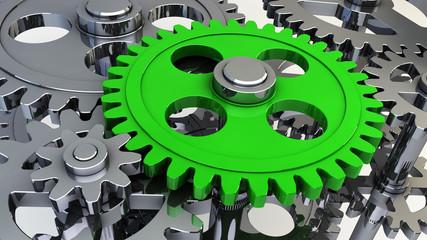 Zahnräder - Gear wheels