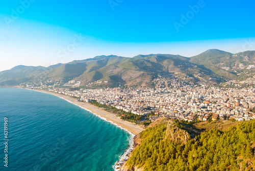 city harbor of Alanya