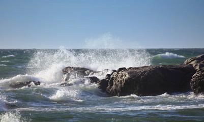 L'océan et ses perles de lumière.