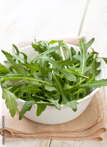 fresh ruccola