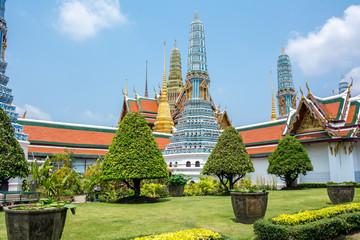Wat Phra Kaew, Temple of Bangkok Thailand 1
