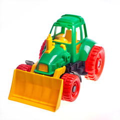 The toy tractor
