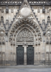Door of Saint Vit cathedral