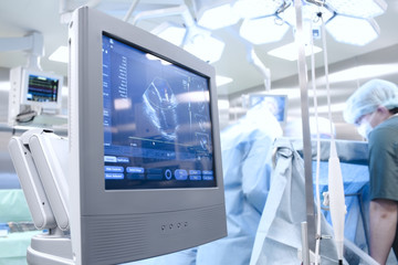 Ultrasound examination in the Operating Room