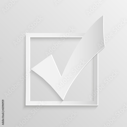 Check Mark Illustration