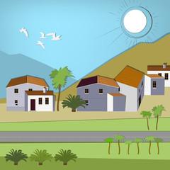 Spanish City landscape