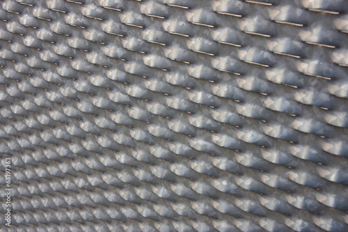 steel galvanized perforated plate used like fence