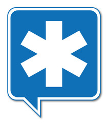 Logo ambulance.