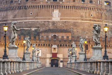 Castel St.Angelo in Rome