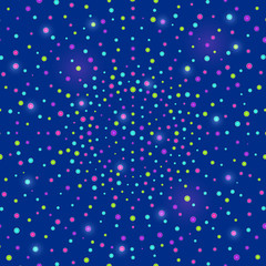 Shiny Disco Blue Background