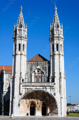 The Hieronymites Monastery in Belem district, Lisbon, Portugal