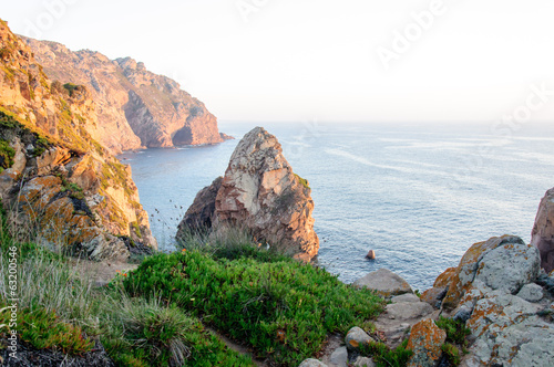 Seacoast at Cabo da Roca, Portugal