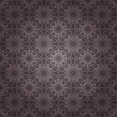 Purple Colors Geometric Pattern design. Original Pattern and Sym