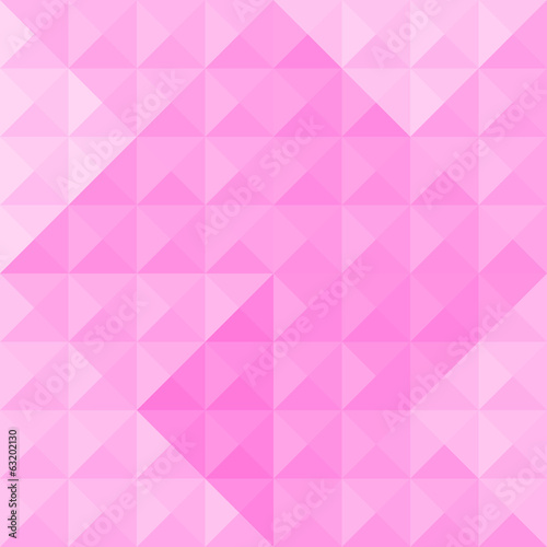 Pink triangle pattern3