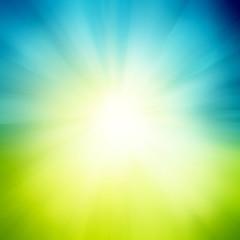 Abstract sunburst