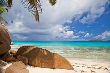 Beautiful tranquil tropical beach