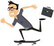 perso tertiaire moderne skateboard