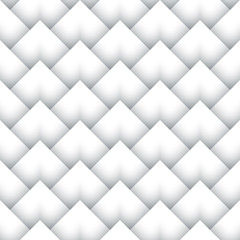 Paper corners, geometric seamless pattern