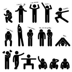 Man People Person Basic Body Language Posture