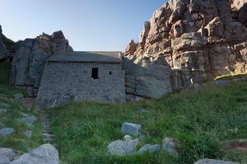 Saint Govan's chapel