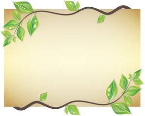 Leaf card