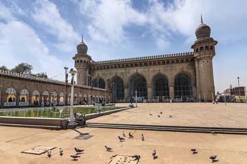 Mecca Masjid at Hyderabad, India