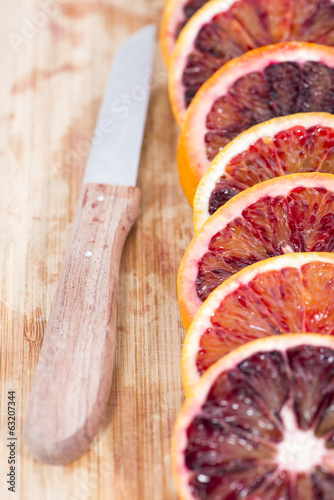 canvas print picture Blood Orange