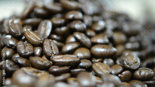 Coffee Beans (close-up loopable video)