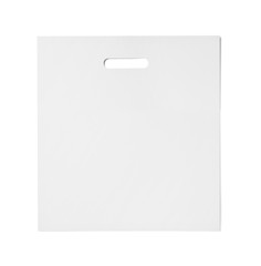 white bag template plastic paper shopping
