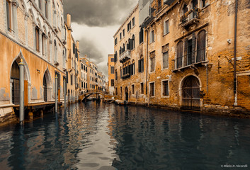 Venezia e brutto tempo