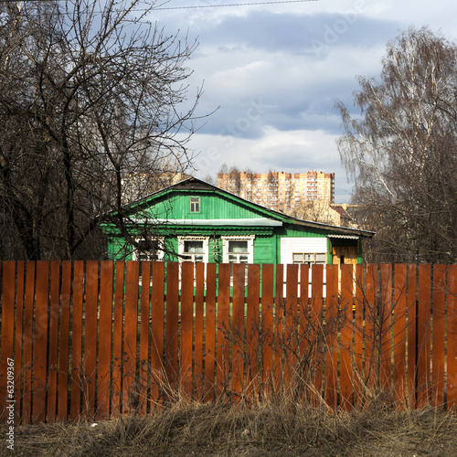 village of Tainiskoye district of Mytishchi.