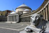 Piazza del Plebiscito à Naples - Italie