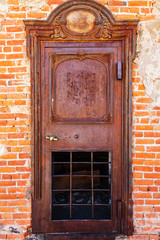 Ghost Town Jailhouse Rusted Patina Door