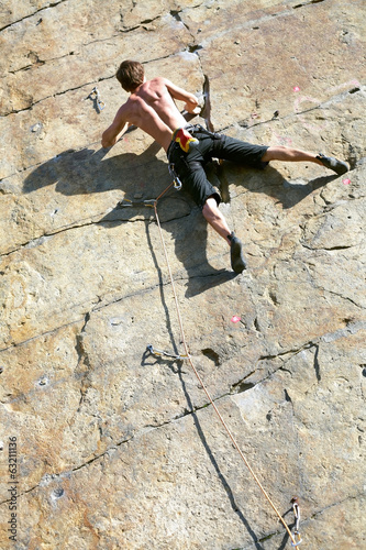 rock-climbing, man, mountain, extreme, climbing, adventure, clim