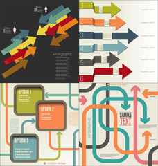 Collection of Infographic Templates