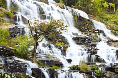 Mae Ya waterfall, Doi Inthanon National Park, Chiang Mai, Thaila