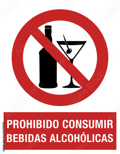 Alcohol is prohibited