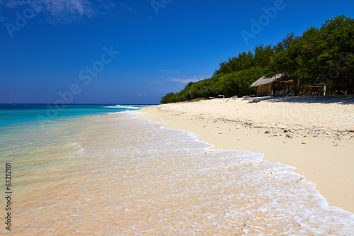 Tropical white sand beach