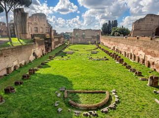 Hippodrome Stadium of Domitian, Palatine Hill Rome