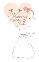 Wedding dress - Summer Collection