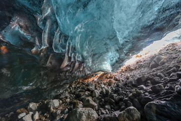 Ice Cave, Vatnajokull, South Iceland