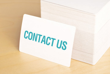 Contact us Business cards