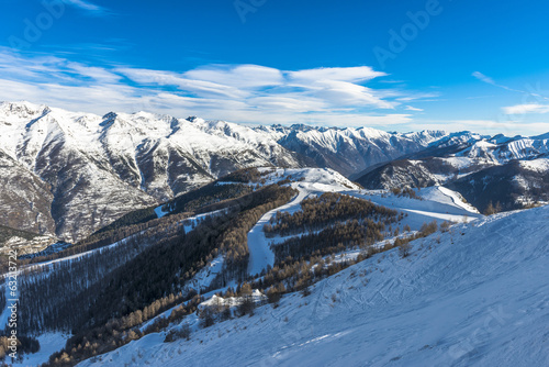 French Alps in Auron